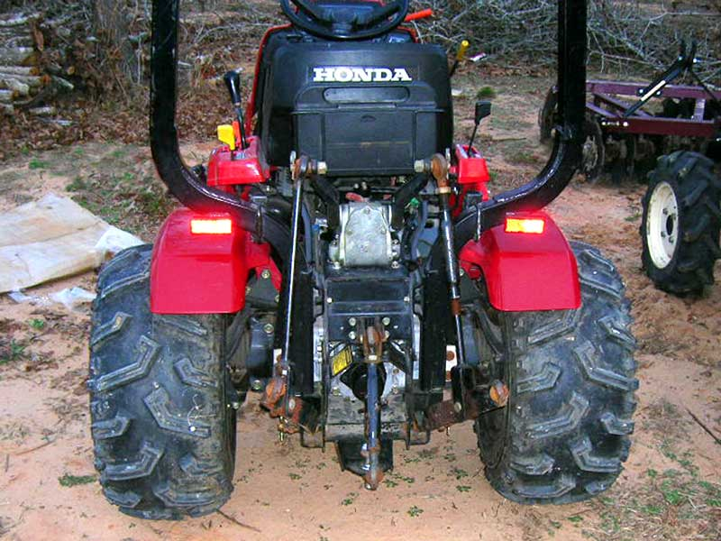 Custom Tractor Wheels : Custom wheel adapters for honda series tractors
